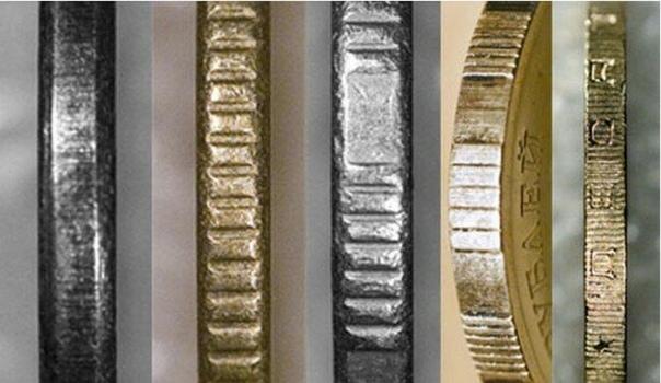Гурт на монетах: почему на ребре монеты есть рисунок.