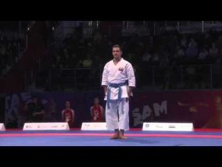 Ryo Kiyuna vs. Antonio Diaz - World Combat Games 2013 - Male Kata FINAL