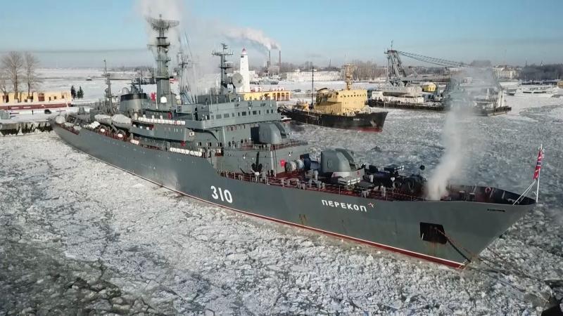 Учебный корабль Балтийского флота «Перекоп» впервые совершит плавание вокруг Евразии