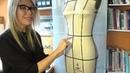 Моделирование юбки - карандаш Методом Наколки на манекене. Часть 1