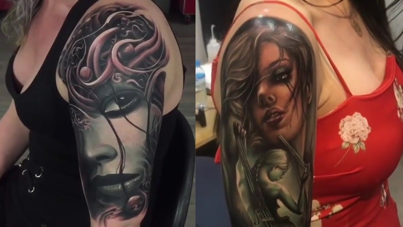 Best tattoos in the world HD 2017 [ Part 16 ] - Amazing Tattoo Design Ideas