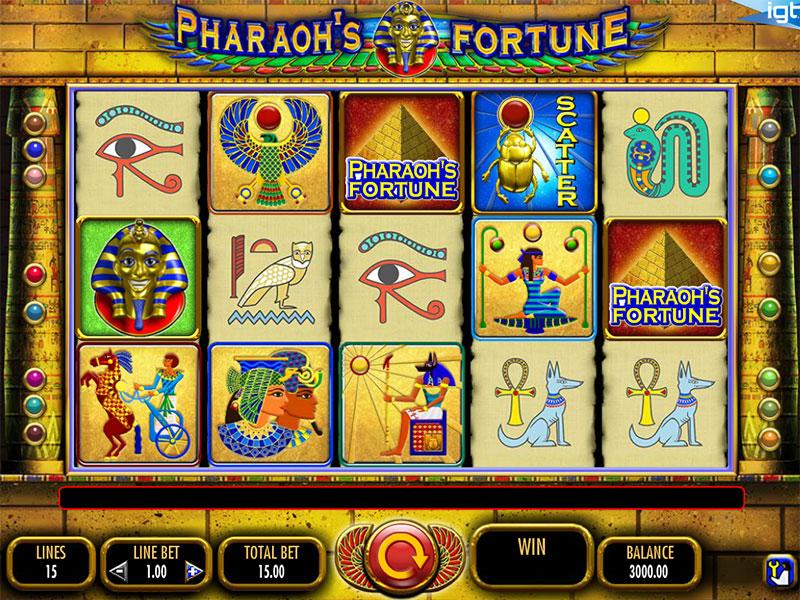 Слот Легенда о фараонах