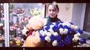51 синяя и белая роза в миксе от компании 15РОЗ. Букет любимой жене. 51 роза