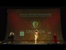 Чемпионат России по танцам LEGENDA ГАЛА-ШОУ Эбру Беккер,Дмитрий Чеузов, Али Аббасов