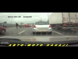 Супер Подборка МОТО дтп и аварий За Июль 2014 №2