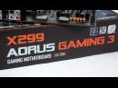 Обзор материнской платы Gigabyte X299 AORUS Gaming 3
