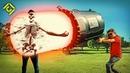 World's LARGEST Laser Gun!