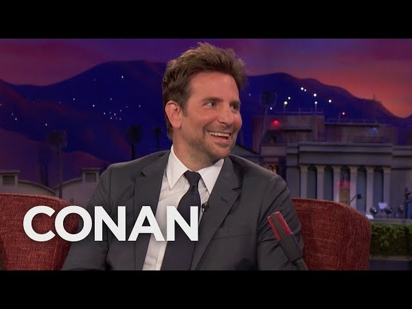 Bradley Cooper Recently Watched The Hangover 3 On Cable - CONAN on TBS