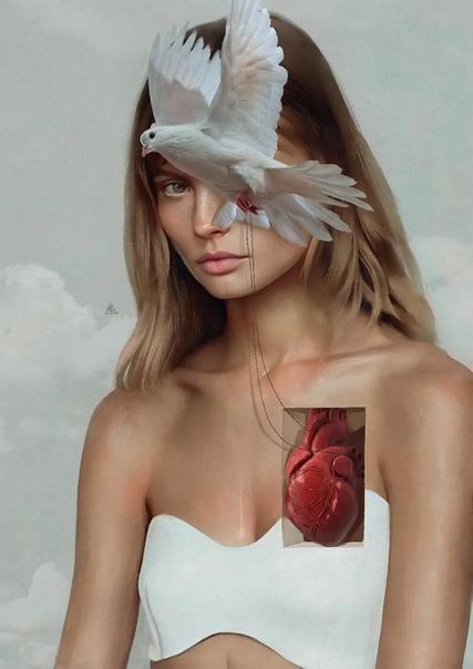 Странная завораживающая красота в работах турецкого художника Айкута Айдогду. Айкут, молодой необычайно талантливый турецкий цифровой художник. В Турции, его ставят в один ряд с Сальвадором Дали
