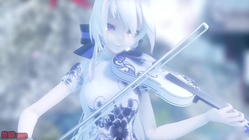 【MMD】『千本桜_⁄Senbonzakura』Tda china dress Haku [UHD]
