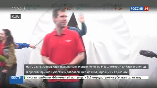 Новости на Россия 24 • На Гавайях завершился экспериментальный полет на Марс