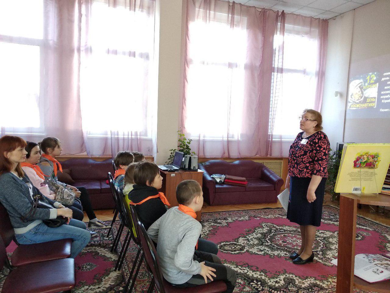 «Космическая» презентация прошла в детской Лианозовской библиотеке