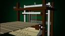 Jacquard Design Machine Simulation 3D