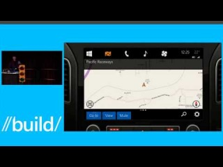 Microsoft Demos Concept for Windows in the Car
