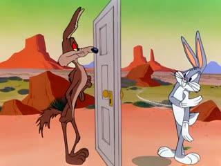 Looney Tunes (Bugs Bunny, Coyote) - Operation Rabbit (Audio Latino)