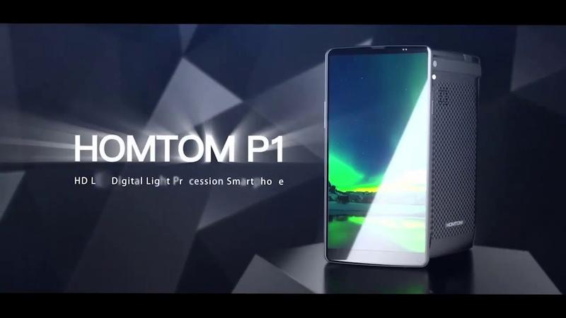 Обзор смартфона HomTom P1, официальный тизер