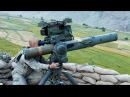 BGM 71 TOW Anti Tank Guided Missile in Action Target Shooting Live Fire