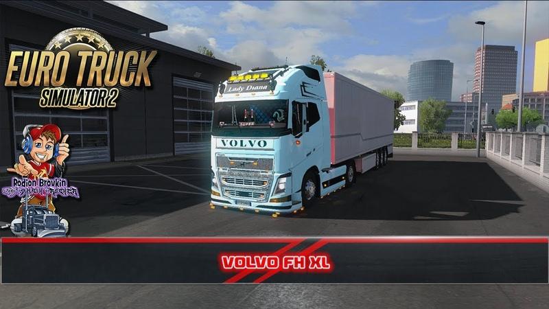 [ETS 2 v1.32x] Volvo FH XL (DTSPshnik_Trucker)