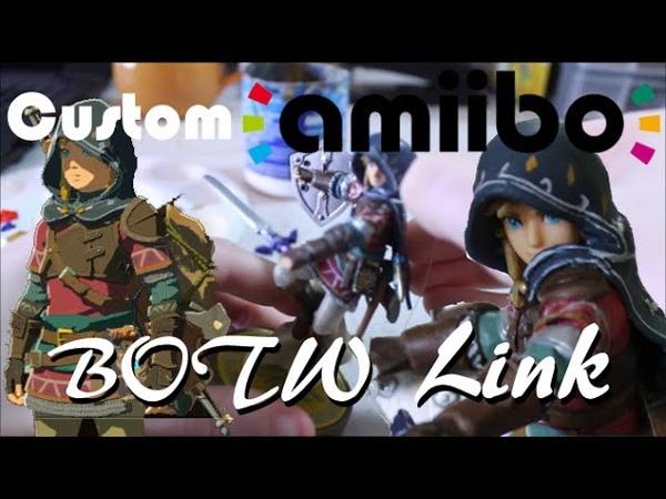 Покрас Amiibo Линка в его альтернативную версию PixelCollie