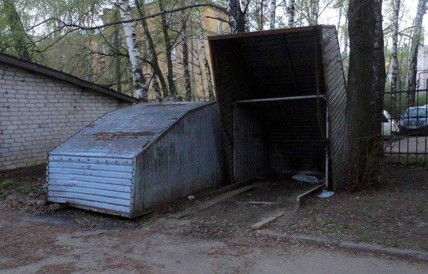 Йошкар–Олинские гаражики и тут приживаются