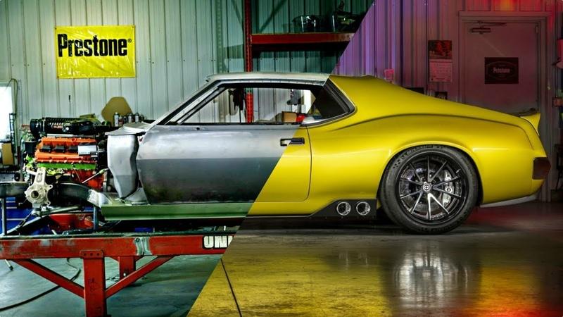 1100HP 1972 AMC Javelin Restomod Build - Muscle Car Project