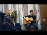 Юлия Брылева - Lost On You (кавер на LP, гитара-Леонид Коцюба, acoustic version, live).