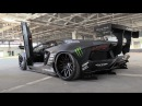Liberty Walk Lamborghini Aventador w/ Fi Exhaust - Start, Revs Fly By's!