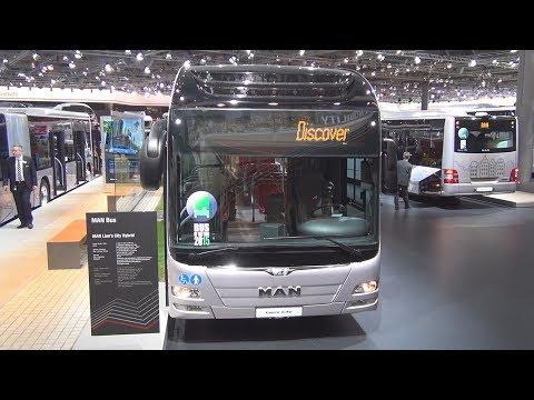 MAN Lion's City Hybrid Bus Exterior and Interior
