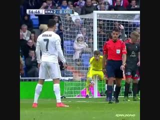 Красивые моменты Роналду