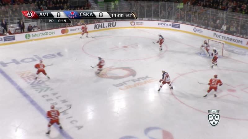 KHL 2018-2019. Avtomobilist – CSKA 04.09 17.00 часть 01