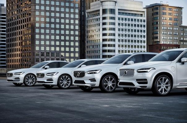 Автомобили Volvo не поедут быстрее 180 км/ч