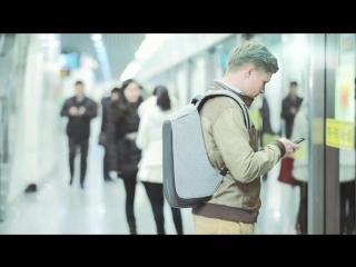 Рюкзак Kalidi Bobby XD Design Городской рюкзак для ноутбука с USB-зарядкой и защ