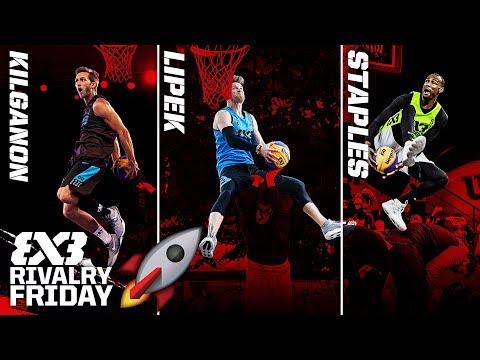 Kilganon vs. Lipek vs. Staples - Who is the Best Dunker on the Planet | FIBA 3x3 Rivalry Friday