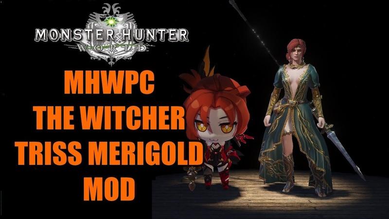 Monster Hunter World -- Witcher Triss Merigold MOD