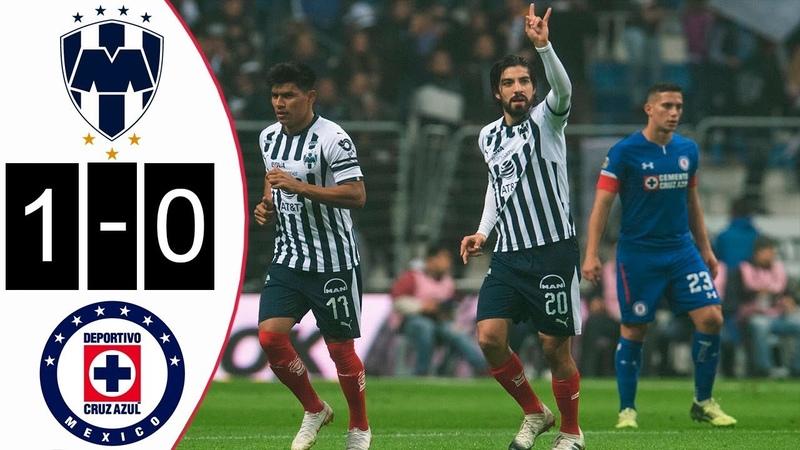 Mexico I Monterrey Vs Cruz Azul I Resumen Y Gol 1-0 Semifinal Ida I Liga MX 2018