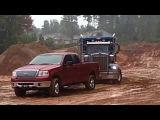 Extreme 4x4 Ford f150 в грязи, вытаскивая многотонный грузовик :)