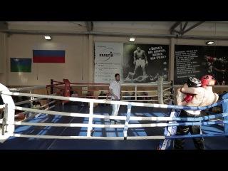 Кикбоксинг в Сургуте 01 04 2017 Бой 31
