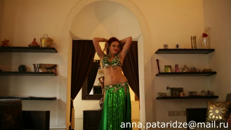 Anna Pataridze dance video from Morocco