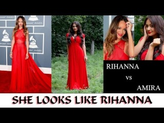 Transformation ~ Looks like Rihanna-Amira