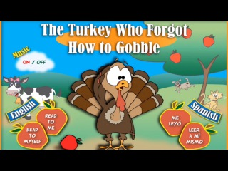 Childrens Books | THE TURKEY WHO FORGOT HOW TO GOBBLE-English