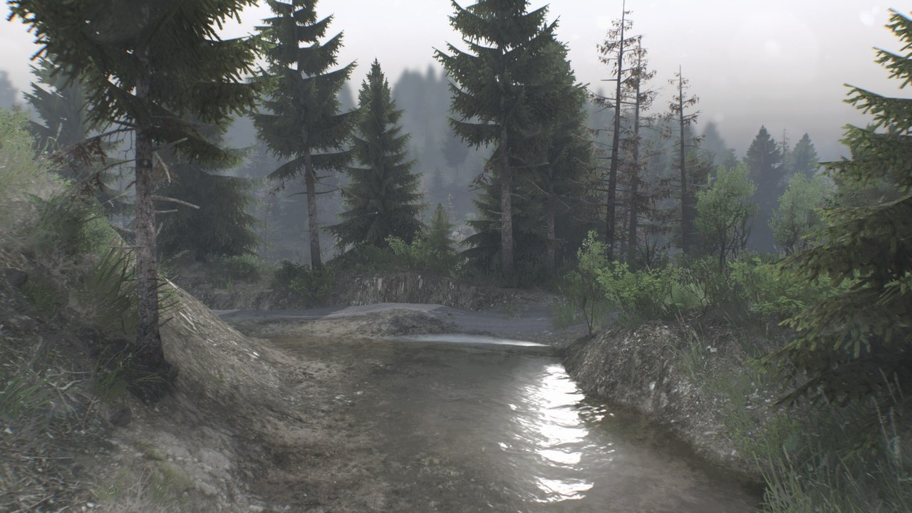 "Карта ""Evans Creek"" для 25.12.15 для Spintires - Скриншот 3"