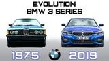 BMW 3 SERIES - EVOLUTION (1975-2019)