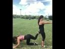Fitness тренировка на свежем воздухе💪