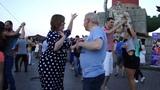 Валентин Чесноков и Светлана Кузнецова - бачата на Стрелке В.О. 14.07.18 г.