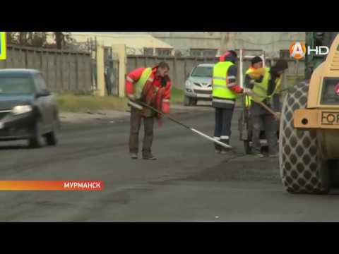 В столице Заполярья завершается кампания по ремонту дорог