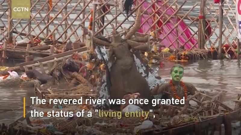 Ямуна самая загрязненная река Индии