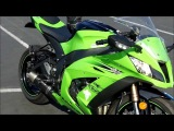 Kawasaki Ninja ZX10R Walk Around Engine Exhaust Sound Revving. Sportbike Motorcycle VLOG