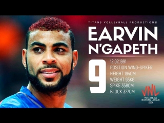 Earvin ngapeth top 20 magic plays. vnl - 2018.