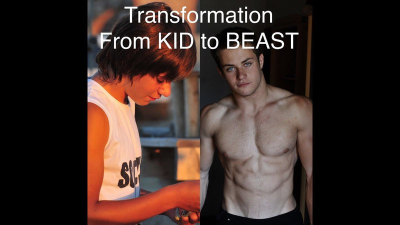 13-17 years Weighted Calisthenics Transformation. From KID to BEAST