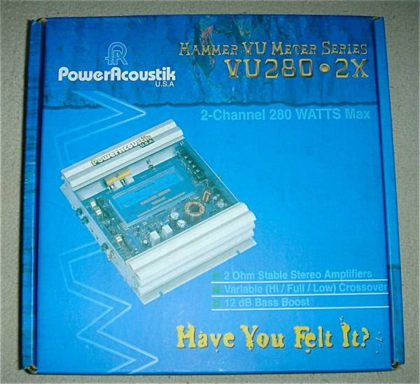 Power Acoustik VU280